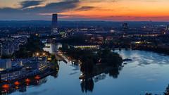 Sunset - Basel