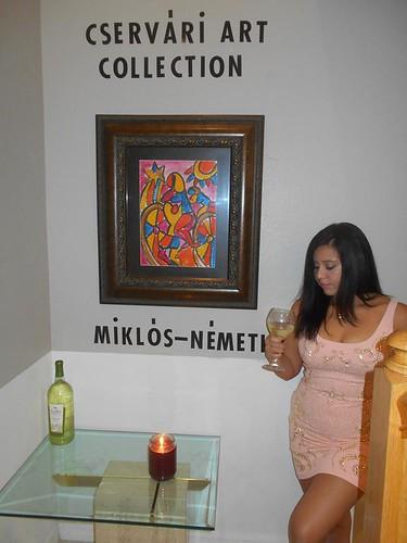 Miklos Nemeth 1934 Cservari art Collection USA Florida