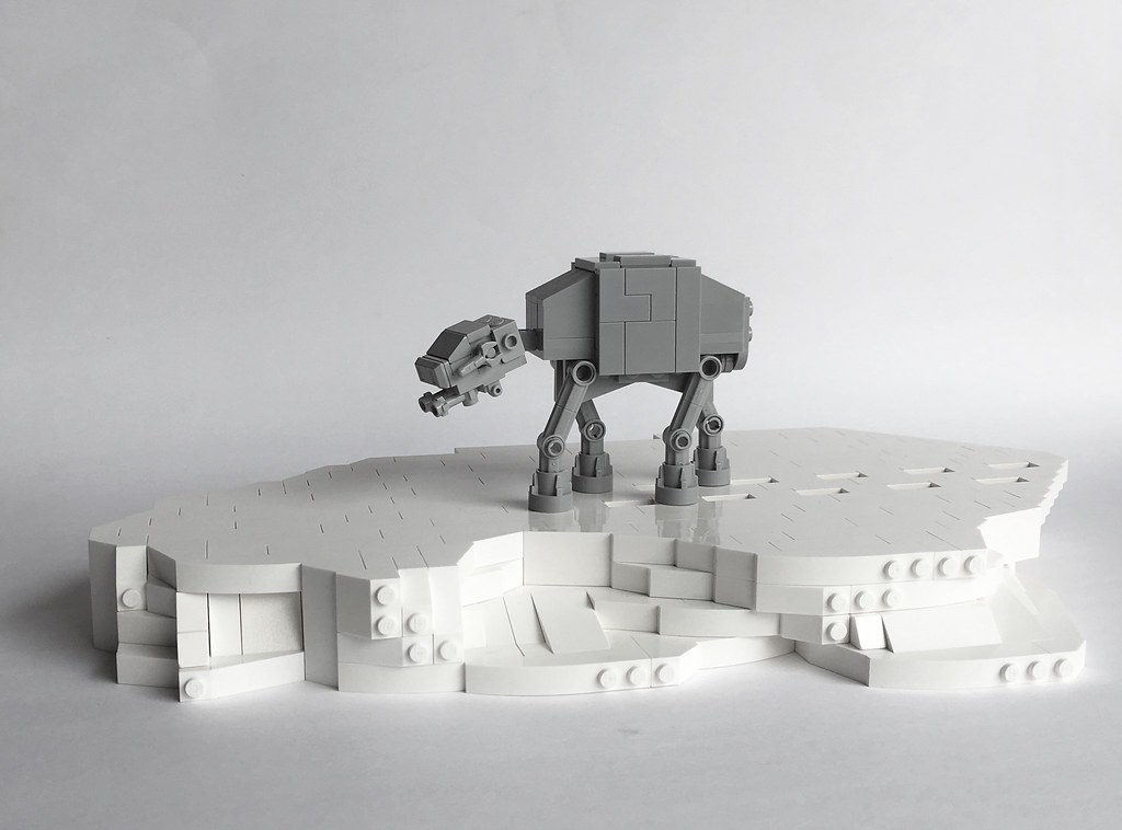 Tiny Empire Strikes Back (custom built Lego model)