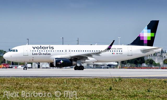 XA-VLQ Volaris Airbus A320-233(WL) - cn 7088 - MIA