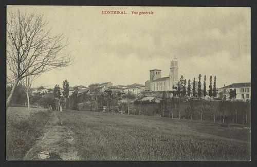 Montmiral - Vue générale