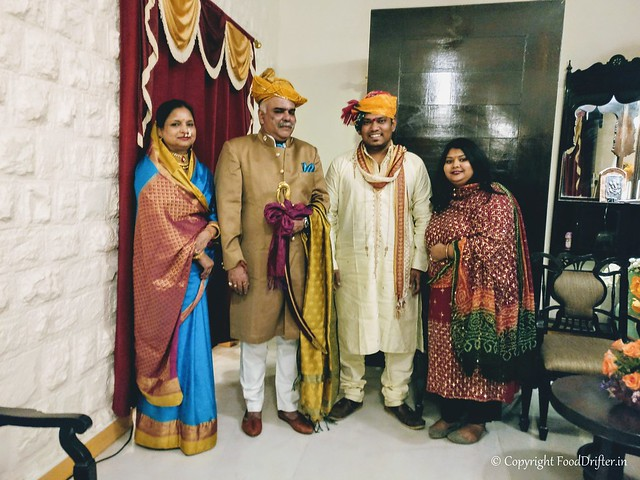 With The Maharaja and Maharani of Dhar