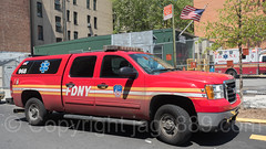FDNY EMS 13 Vehicle, Washington Heights, New York City