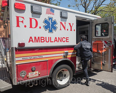 FDNY Ambulance, Washington Heights, New York City