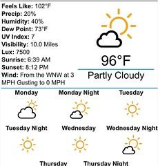 Faaaaakkkkk. #deserthot #floridahot #africahot #weather