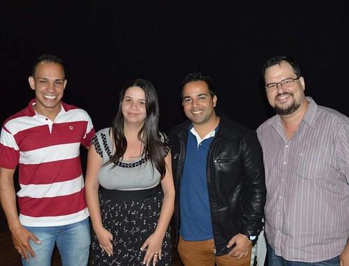 Noite abençoada, noite do Encontro de Adoradores em Tupã no anfiteatro Iori, glória a Deus! #bonnalouvorepalavra