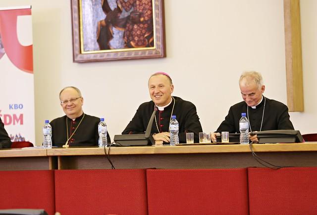Spotkanie krajowych duszpasterzy młodzieży, Warszawa, 18 V 2017