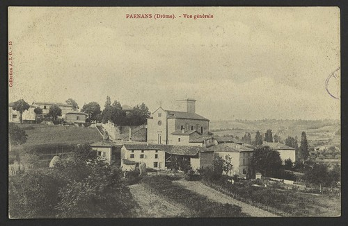 Parnans (Drôme) - Vue générale