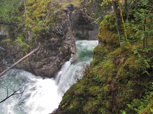 littlequalicumfallsprovincialpark littlequalicumfalls provincialpark vancouverisland britishcolumbia canada landscape scenery waterfall