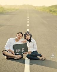 Outdoor prewedding photo shoot for Niken & Pandu at Landasan Pacu Depok Bantul Yogyakarta.  Foto prewedding by @poetrafoto, http://prewedding.poetrafoto.com  Follow IG: @poetrafoto untuk lihat foto pre+wedding terbaru kami ya.  Untuk info pricelist, mohon