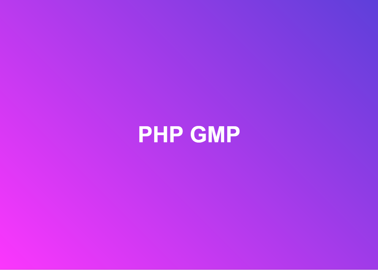 DirectAdmin: How to install PHP GMP