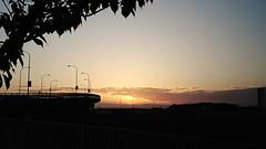Silhouette Sunset Sky Landscape