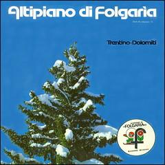 5848 PR Altipiano di Folgaria Trentino Dolomiti ca 1980.