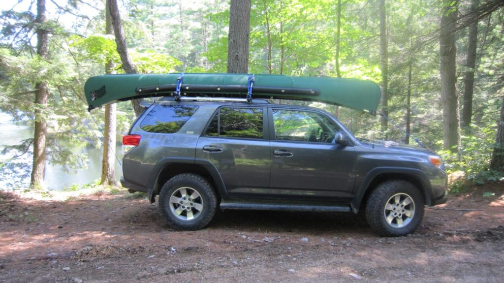 modifying roof rack to carry canoes - Toyota 4Runner Forum - Largest