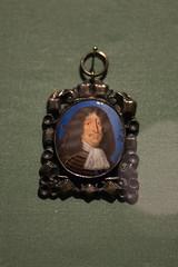 Miniature royal painting