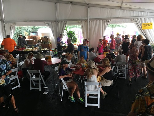 'OZ Hospitality Tent Day 2 - Jazz Fest 2017