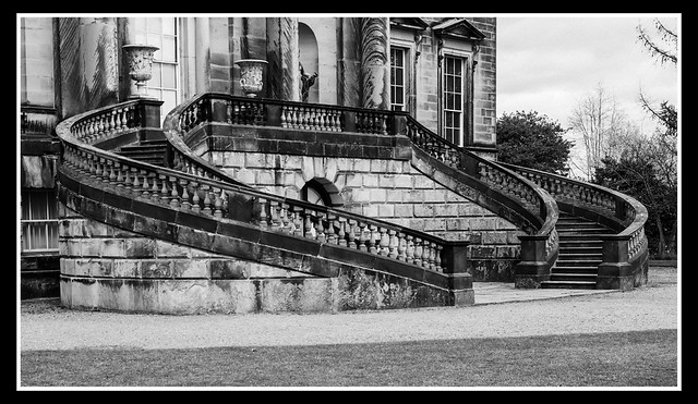 Stairs Ilford Pan F Plus 50