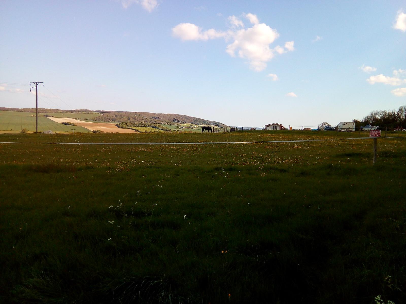 Approaching Cuxton