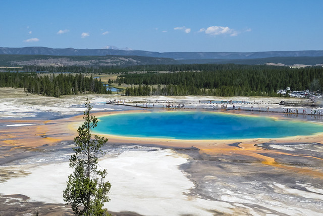 Yellowstone NP, Grand Prismatic, Nikon COOLPIX P7000