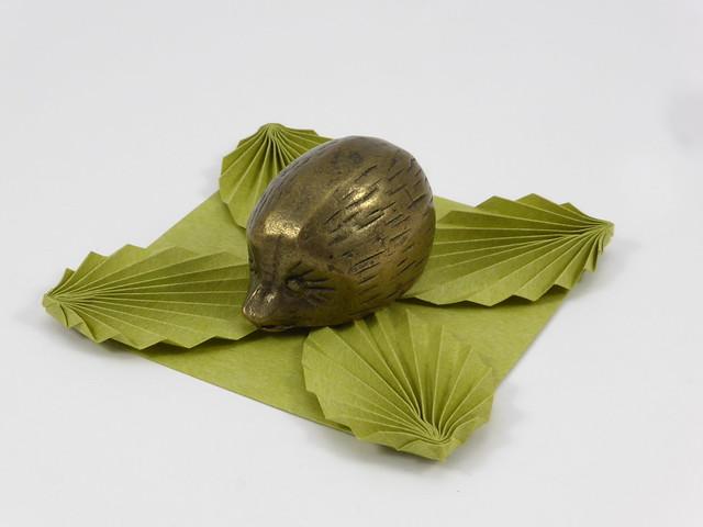 Origami Coaster with Leaves, Panasonic DMC-TZ40