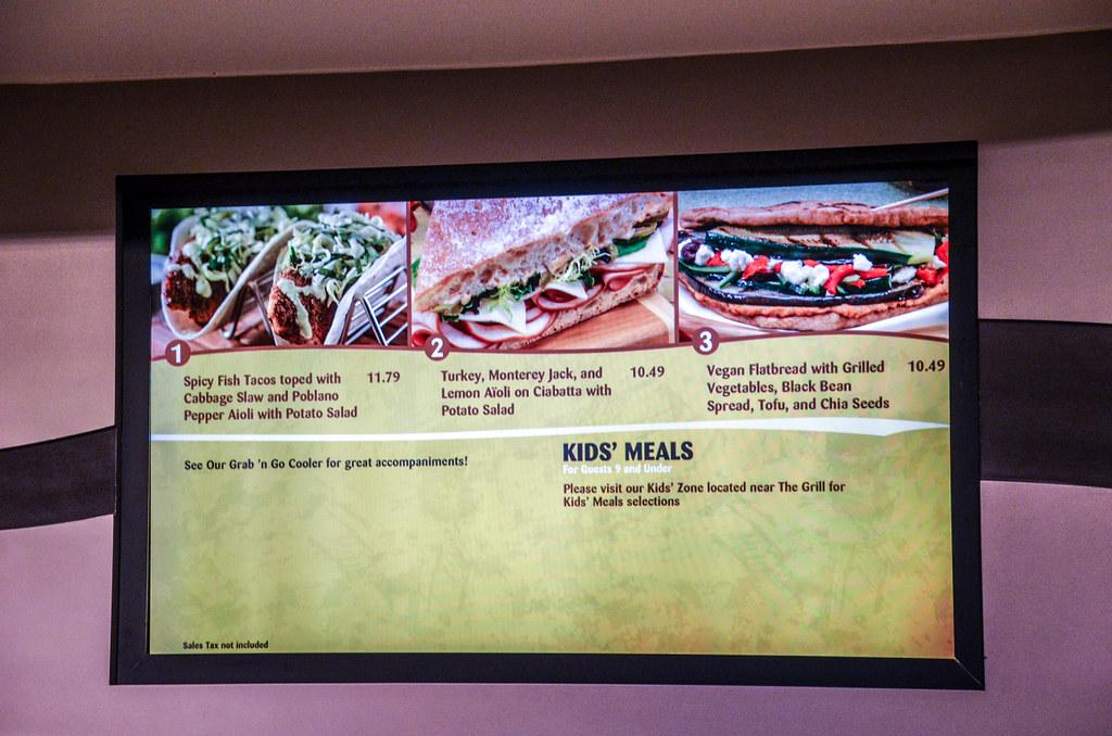 Sunshine Seasons fish tacos menu