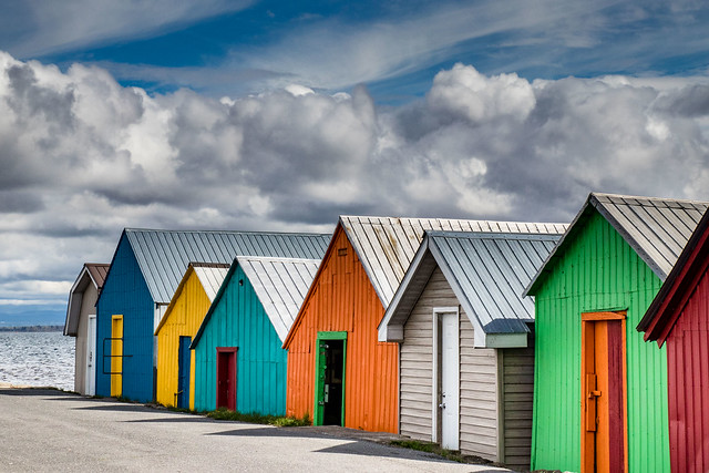 fishing sheds, Canon EOS 77D, Tamron AF 17-50mm f/2.8 Di-II LD Aspherical