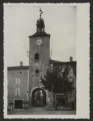 La Tour de l'Horloge, place de la République à Châtillon-en-Diois