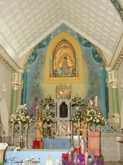 Altar Principal de la Basílica de Nuestra Señora del Valle