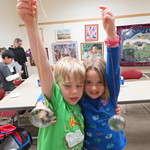 Art in the Library: Sun Catchers
