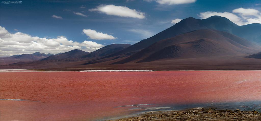 Red lake.