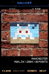 MAN_34 , Invader, Flash Invaders, street art Manchester