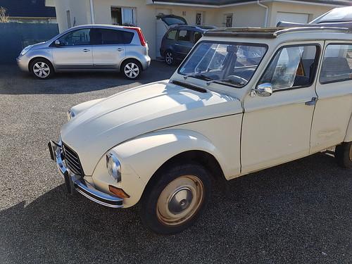 Ma Citroën Dyane 6 1978