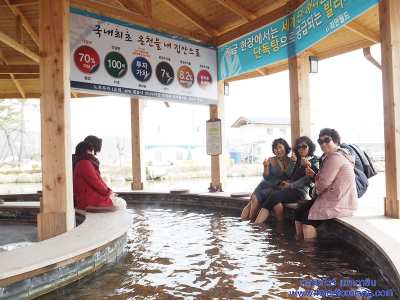 ออนเซนเกาหลี รีอัลเวิร์ล (เรียลเวิร์ล) (Reahnworld) สปาเท้าเกาหลี น้ำแร่เกาหลี