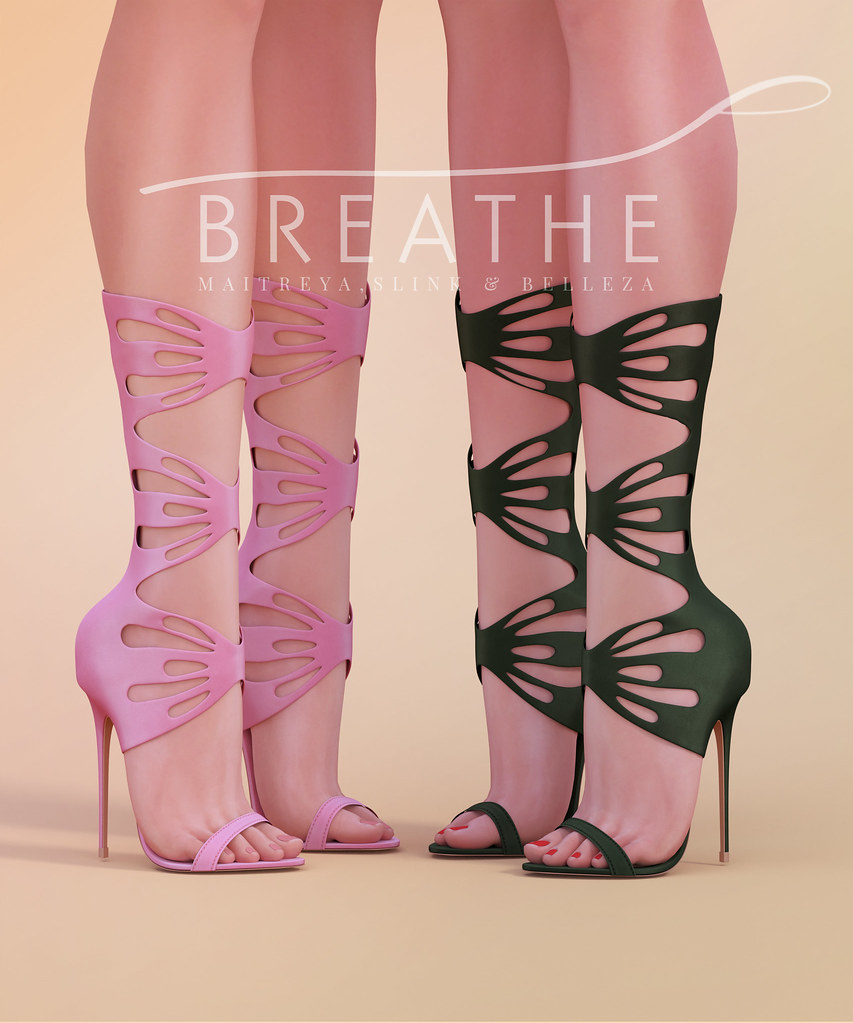 [BREATHE]-Skye Heels - SecondLifeHub.com
