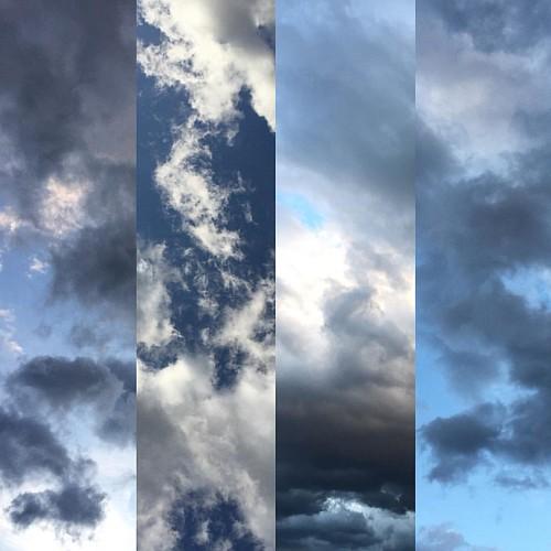 Yatsugatake skies. #cloudjazz