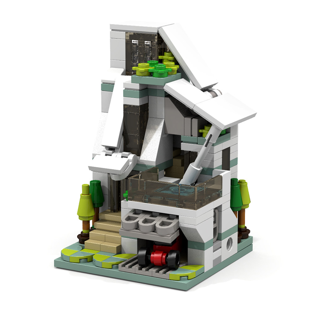 3-1 (custom built Lego model)