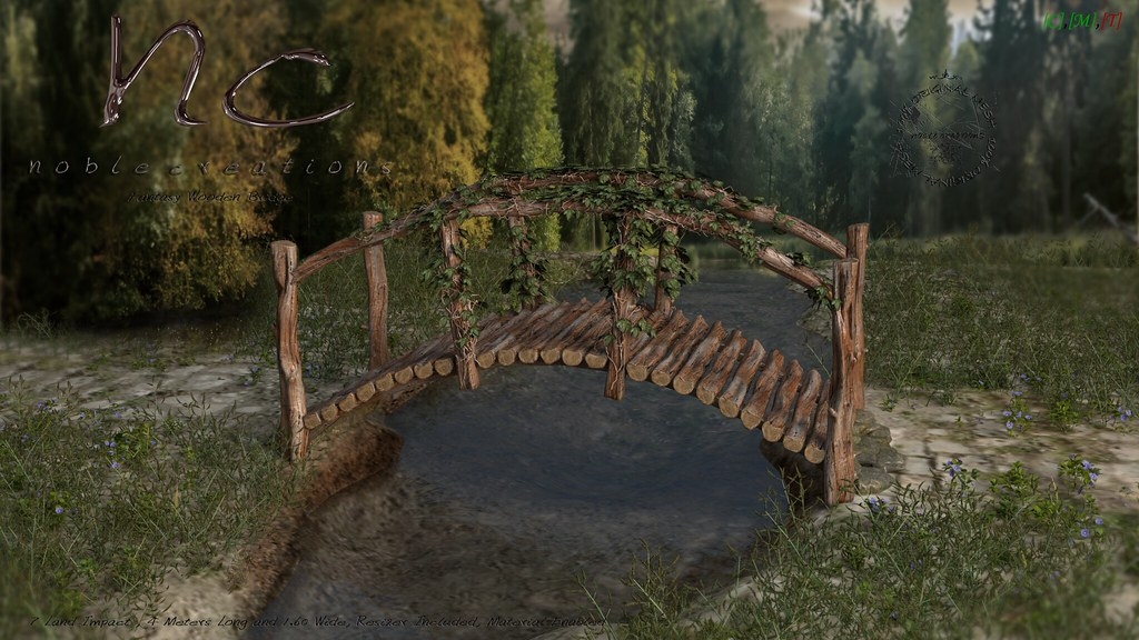 [NC] - Fantasy Wooden Bridge - 1outOf2 Totally Top Shelf - SecondLifeHub.com
