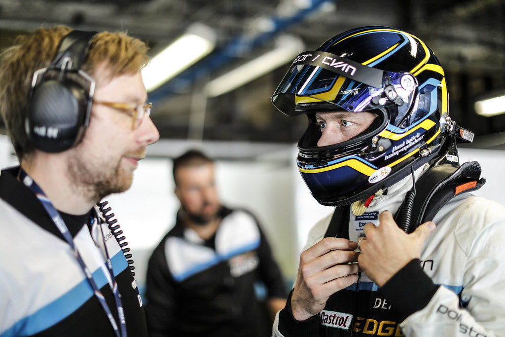 BJORK Thed (swe) Volvo S60 Polestar team Polestar Cyan Racing ambiance portrait during the 2017 FIA WTCC World Touring Car Race of Italy at Monza, from April 28 to 30  - Photo Francois Flamand / DPPI