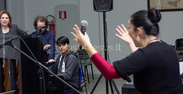 2016 Prove generali con il Coro d'Istituto Liceo Classico e Musicale G. Palmieri di Lecce