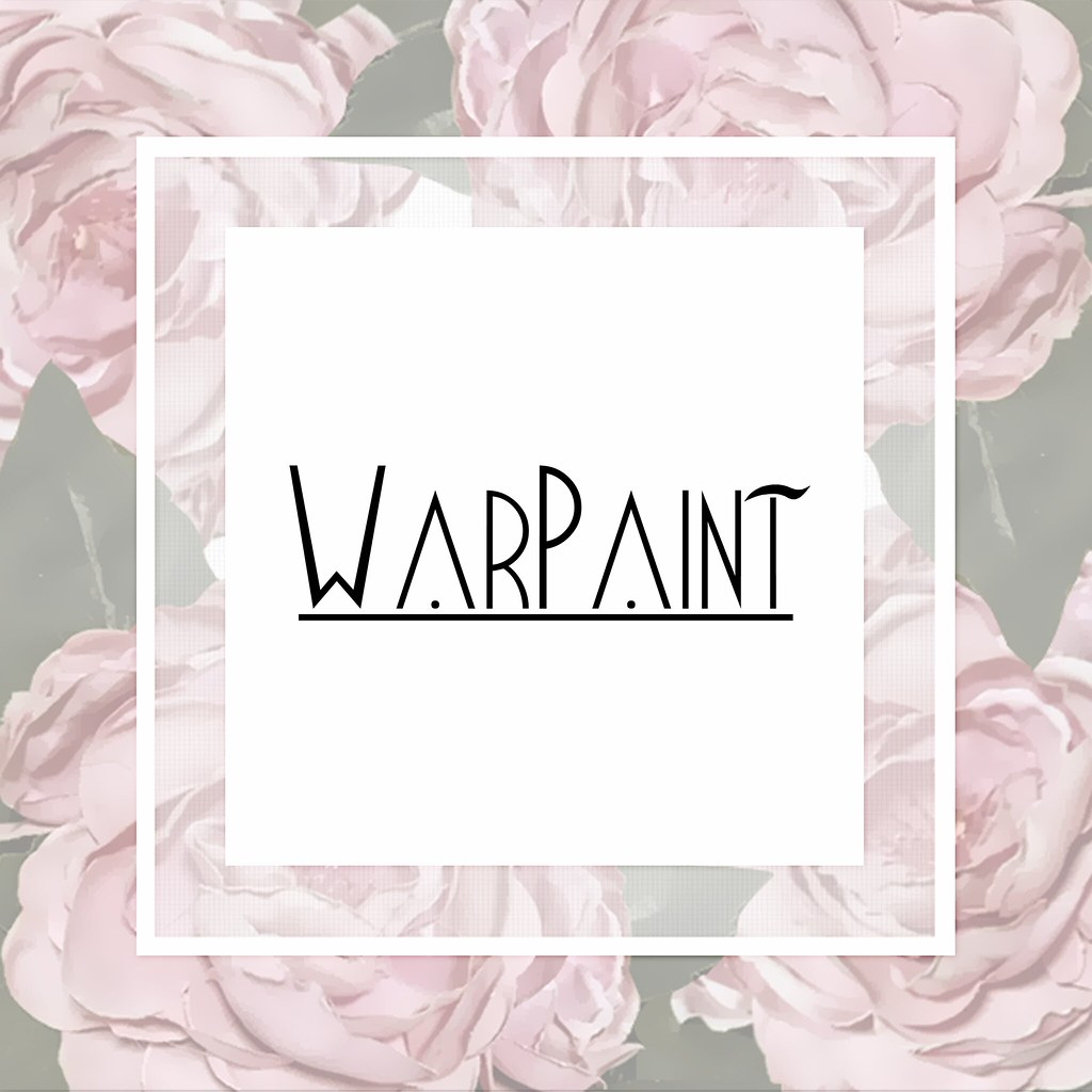 WarPaint* New logo :3 - SecondLifeHub.com