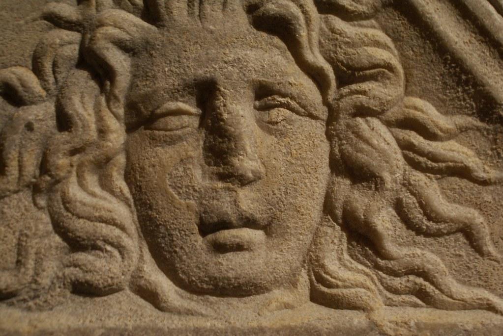 Sculpture du musée d'antiquité de Turin.