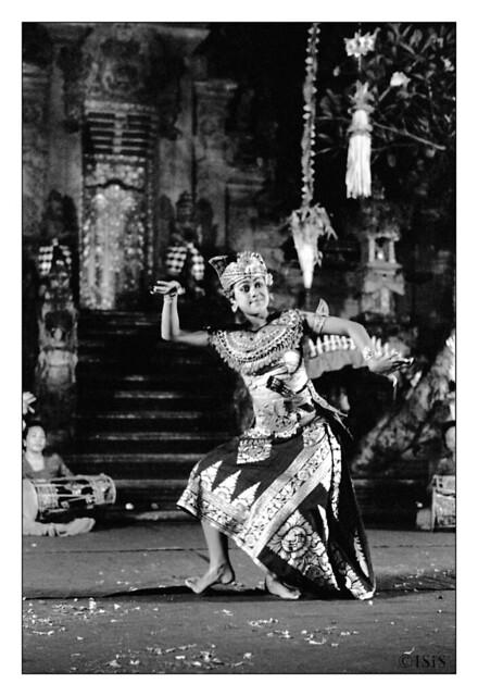 Danse balinaise 1 (Ubud, Bali, Indonésie)