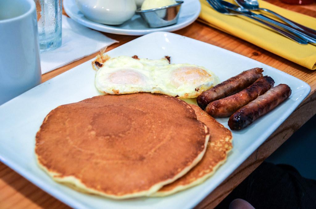 pancakes eggs Olivia's