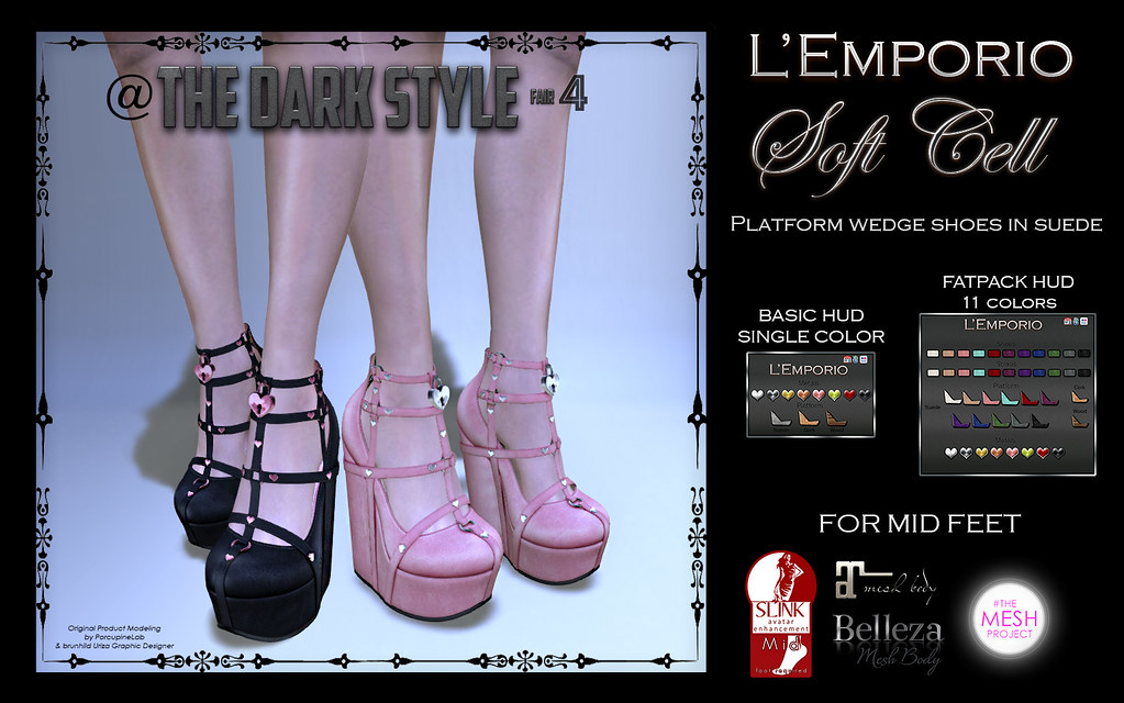 L'Emporio ::*Soft Cell*:: -Doll Shoes - - SecondLifeHub.com