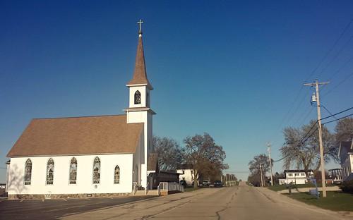 St. John's Lutheran Church, Slades Corners Wisconsin