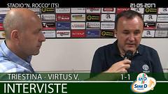 Triestina-Virtus V. del 21-05-17