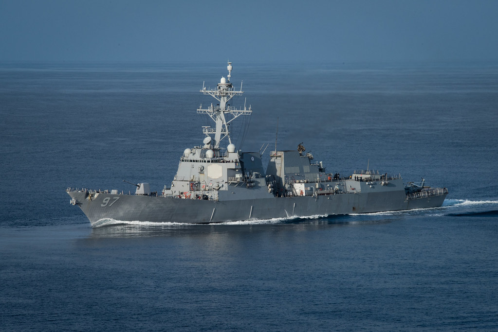The guided-missile destroyer USS Halsey (DDG 97) completed a scheduled port visit to Guam, Nov. 13.