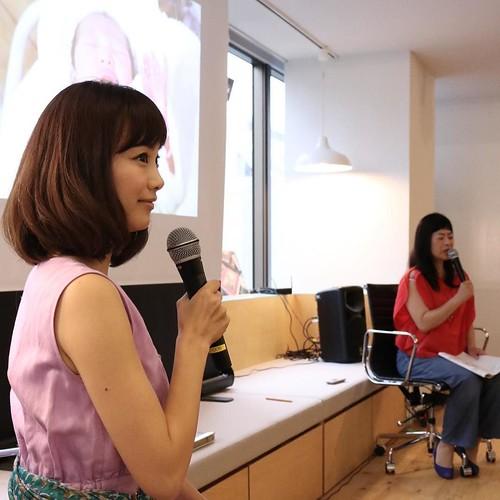 おもいでばこについて、トーク。 #東京の家族写真 #朝日新聞社メディアラボ #おもいでばこ #おもいでばこアンバサダー