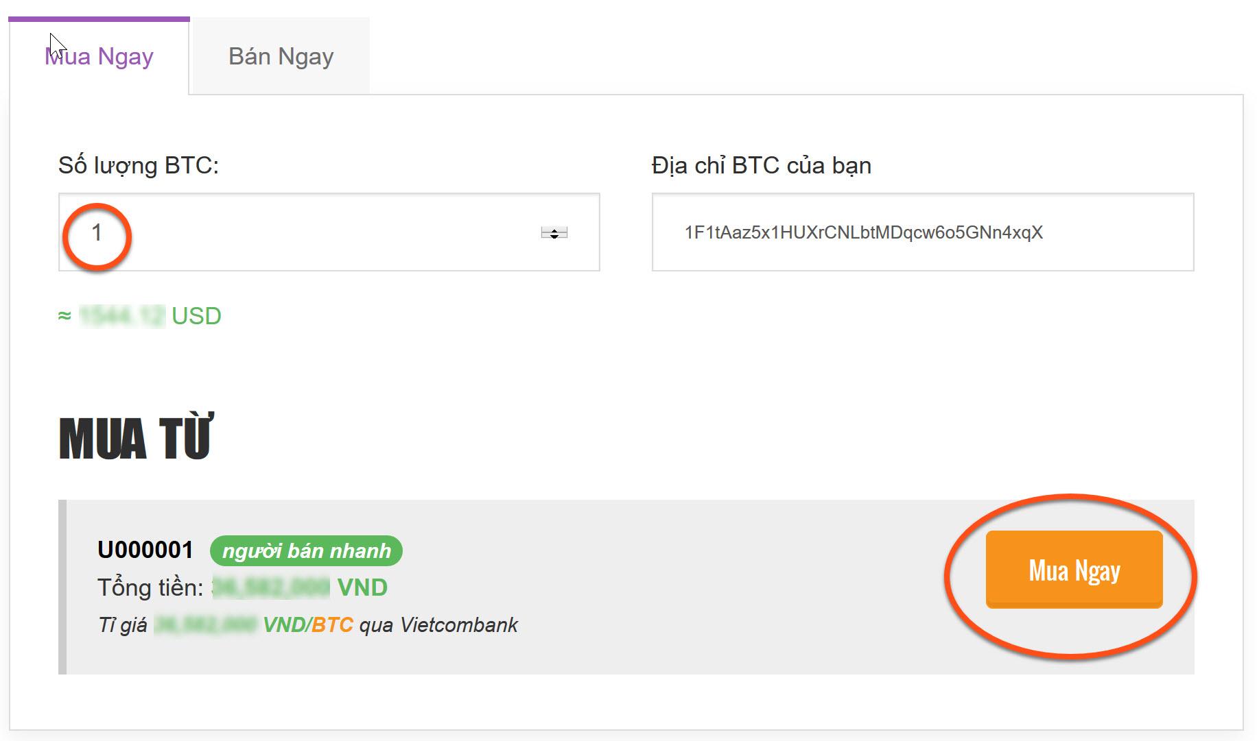 Cách mua Bitcoin