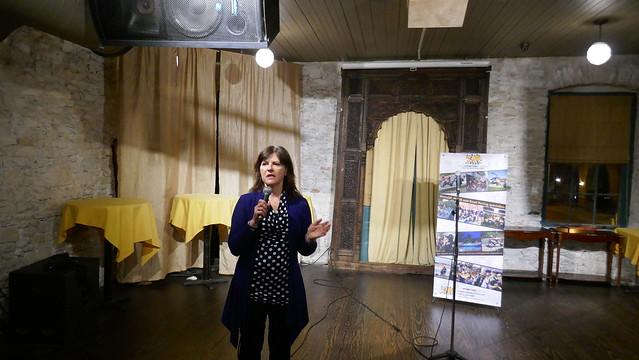 Special guest Olga Budimir on marshalling